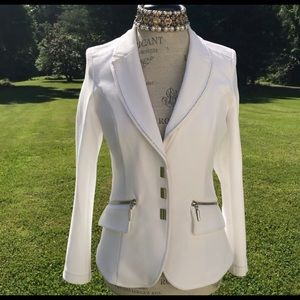 Jackets & Blazers - Sizzling Hot White AirField Jacket💃🏼💃🏼